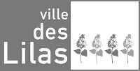 Ville Les Lilas logo N&B 200 largeur